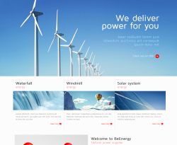 Plantillas multiusos de ThemeForest: Be