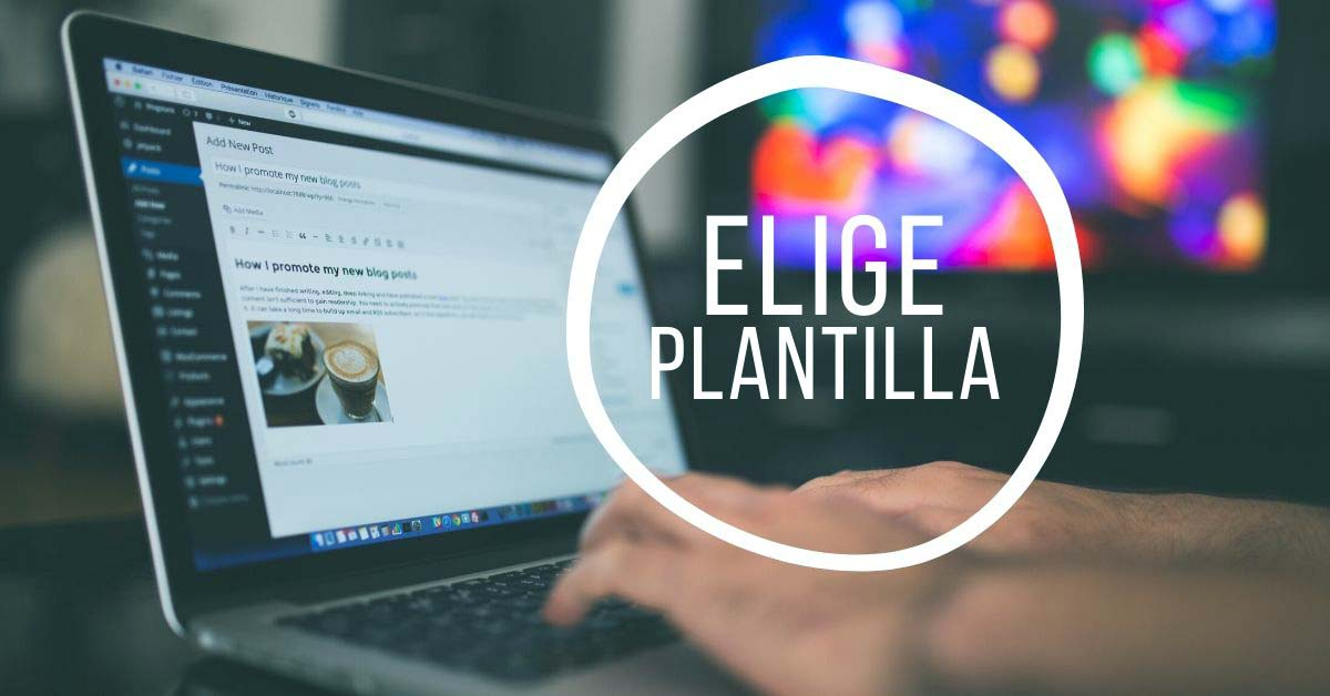 Elige Plantilla WordPress