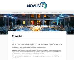 Movusic web