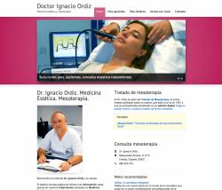 Ordiz Mesoterapia web